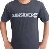 DOLDOLAN Kaos Quicksilver Size L [APT13] - Grey - Kaos Pria
